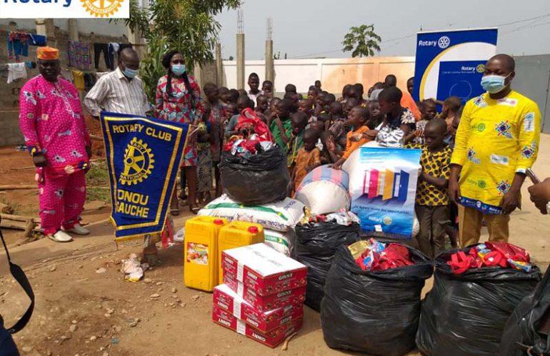 Noël des enfants à l'Orphelinat de MIGNECO