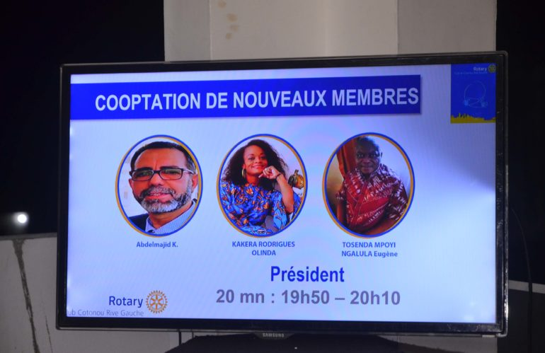 Cooptation de Nouveaux Membres RCCRG 25-06-2021